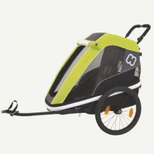 Hamax Avenida One - Remorque vélo - vert/noir Remorques pour enfant