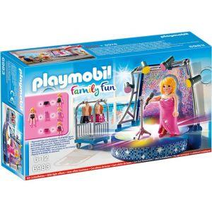 Playmobil 6983 Family Fun - Scène avec artiste