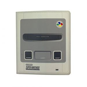 Nintendo SNES Console portable à couverture rigide de 200 pages doublée