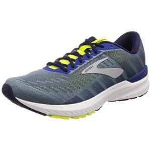 Brooks Ravenna 10, Chaussures de Running Homme, Bleu (Sodalite/Lime/Dark Navy 429), 46 EU