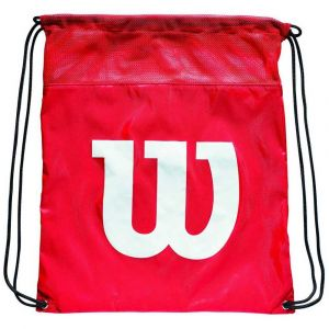Wilson Sac à Chaussures, Cinch Bag, Rouge, WRZ877799