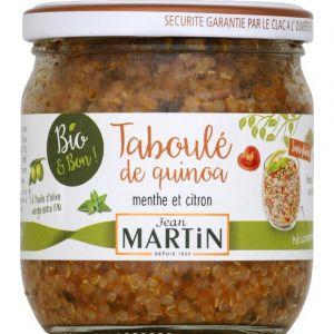 Jean martin Taboule de quinoa menthe et citron bio
