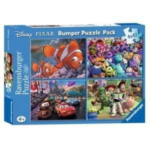 Ravensburger Coffret 4 puzzles Cars, Monstres et Compagnie, Nemo et Toy Story (4 x 42 pièces)