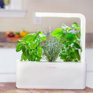 Click and Grow Smart Herb Garden Jardinière connectée