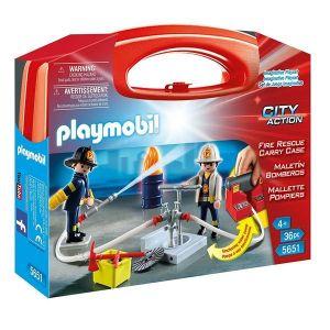Playmobil 5651 - Mallette de Pompiers