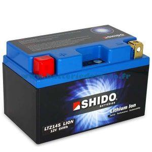 Shido Batterie Lithium LTZ14S