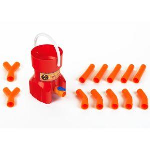 Klein Bouche d'incendie avec tuyaux emboîtables