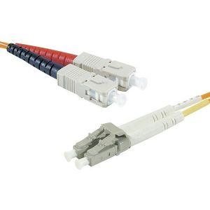 Neklan 2070301 - Fibre optique Duplex multimode 50/125 SC/LC 3 m
