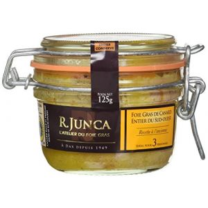 R. Junca Foie gras de canard entier du Sud-ouest recette à l'ancienne