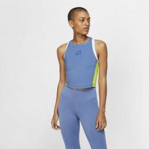 Nike Débardeur Pro pour Femme - Bleu - Taille L - Female