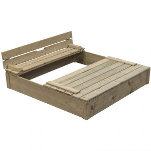Swing King - Bac à sable en bois