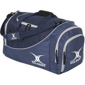 Gilbert Club Sac de sport Rugby Senior Joueurs Grand compartiment Bleu Blau - Navy/Navy 35 x 62 x 30 cm