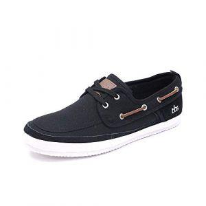 Tbs Marinas Noir MARINASS8004, Chaussures Bateau, Noir, 40 EU