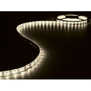 Velleman ENSEMBLE DE BANDE A LED FLEXIBLE ET ALIMENTATION - BLANC CHAUD - 180 LED -3 m - 12 VCC - LEDS14WW