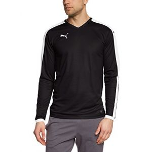 Puma Pitch Maillot Manches Longues Homme Noir FR : XXL (Taille Fabricant : XXL)