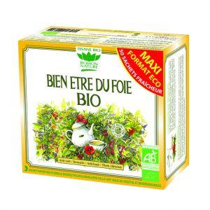 Tisane bien-être du foie bio en boite de 80 g