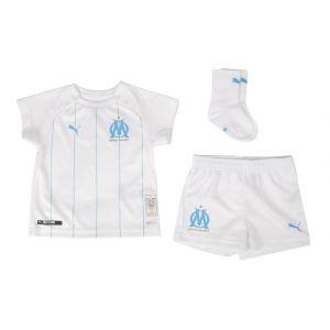 Puma Mini set domicile Olympique de Marseille pour bébé, Blanc/Bleu, Taille 56