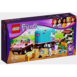 Lego 3186 - Friends : La remorque à chevaux d'Emma