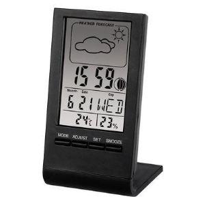 Hama TH-100 - Station météo température intérieure et extérieure avec prévisions