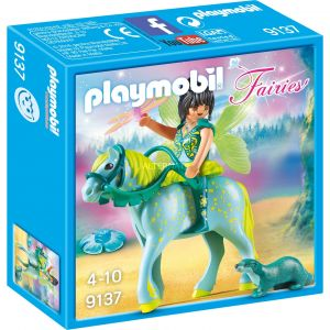 Playmobil 9137 Fairies - Fée avec cheval