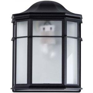 """MW-Light Applique Extérieur Métal """"Luzinay"""" 25cm Noir"""