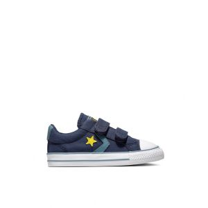 Converse Baskets basses Star Player 2V Canvas Bleu - Taille 18;19;20;21;22;23