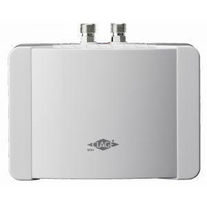 Chauffe eau électrique instantané pour lavabo MBH 6 Débit 3,3 l/min Puissance : 5,7 Kw 230 Volt 25 A, avec câble MONO