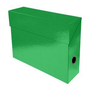 Exacompta Iderama Boite de transfert pelliculée dos 90 mm Vert foncé