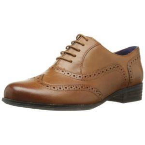 Clarks Hamble Oak, Chaussures de ville femme - Marron (Dark Tan Lea), 39.5 EU (6 UK)