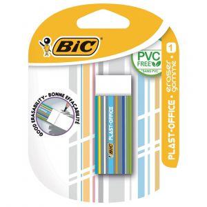 Bic 400848620 - Gomme plastique plast-office présentoir de comptoir