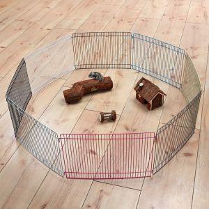 Trixie Enclos Pour Rongeurs, 8 Éléments De 34 × 23 Cm