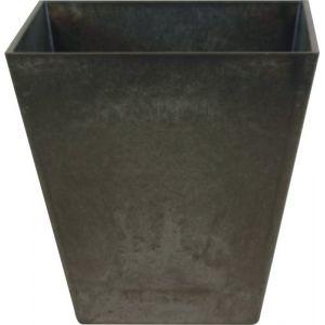 Artstone Pot %u2013 Ella, noir, Diamètre 15 cm