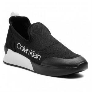 Calvin Klein Chaussures Jeans Que Knit Noir - Taille 36,38,39,40,41