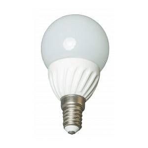 Goobay Ampoule LED bulbe douille E14, 4W 230V, blanc chaud