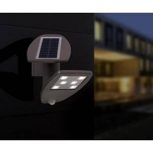 Lutec Applique extérieure ZETA LED Gris, 1 lumière - Moderne - Extérieur
