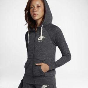 Nike Sweatà capuche entièrement zippé Sportswear Gym Vintage pour Femme - Noir - Taille M - Female
