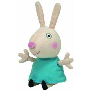 Ty Peluche Peppa Pig : Rebecca Rabbit 15 cm