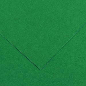 Canson 200040383 - Feuille Iris Vivaldi 50x65 240g/m², coloris vert mousse 30