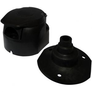 Aerzetix : Fiche femelle 7pin prise connecteur de remorque 7 broches 12V C12382 attelage faisceau câble câblage feux arrières stop