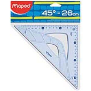 Maped Équerre 45° Geometric 26 cm