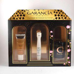 Garancia Larmes de Fantôme - Coffret masque high-tech, contour des yeux et paupières et bougie rose d'antan