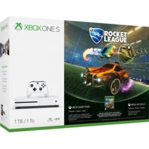 Microsoft Pack Console Xbox One S 1 To Minecraft + Rocket League + 3M Live
