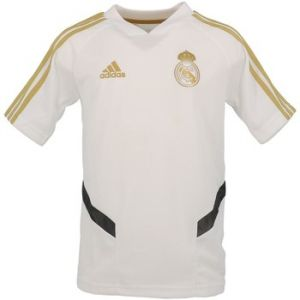 Adidas Maillot d'entraînement Real Madrid - Blanc - Enfant - Taille 9-10 Years