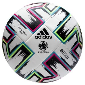 Adidas Ballon de football UEFA Coupe d'Europe 2020 Uniforia Match Ball Replica Training Blanc / Noir - Taille 5