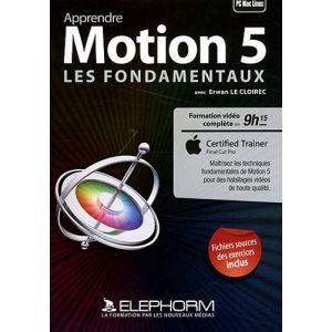 Apprendre Motion 5 - Les fondamentaux (Erwan Le Cloirec) [Mac OS, Windows]