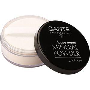 Sante Naturkosmetik loose matte Mineral powder