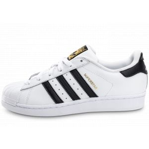 Adidas Baskets -originals Superstar J - Ftwr White / Core black / ftwr White - EU 36