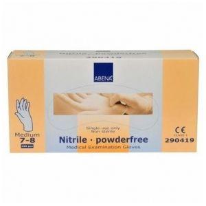 Abena 150 gants en nitrile non poudrés - Medium 7/8