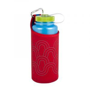 Nalgene Bouteilles Bottle Sleeve Graphic Neoprene Red