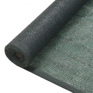 VidaXL Filet brise-vue PEHD 1 x 10 m Vert